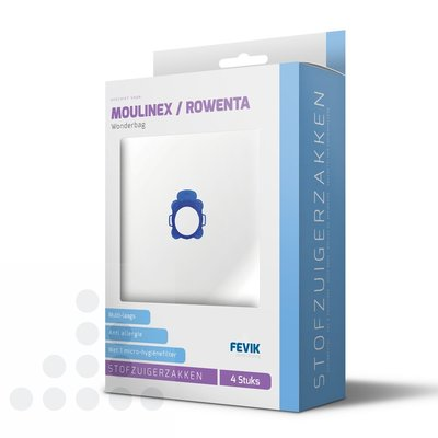 Moulinex / Rowenta filterplus stofzuigerzakken