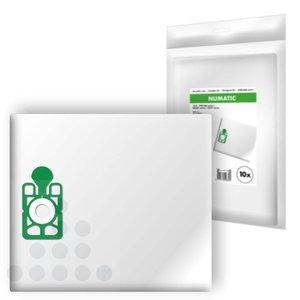 Stofzuigerszakkken Numatic NVM 1CH filterplus (10 stuks)